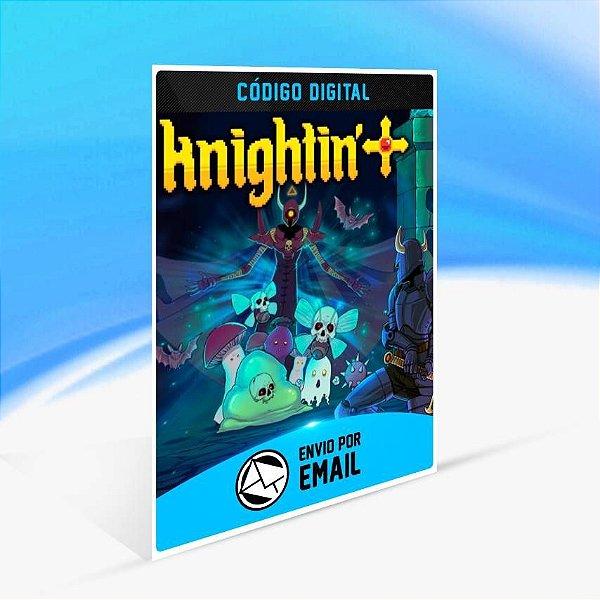 Knightin'+ - Xbox One Código 25 Dígitos
