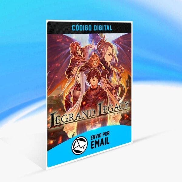 LEGRAND LEGACY: Tale of the Fatebounds - Xbox One Código 25 Dígitos
