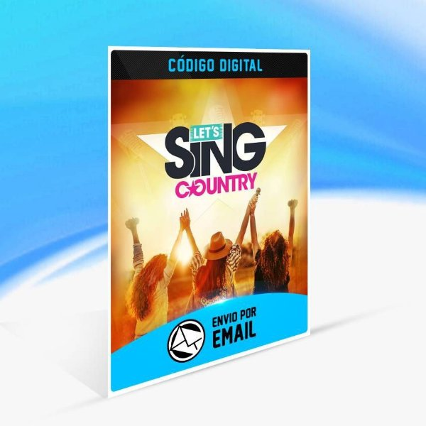 Let's Sing Country - Xbox One Código 25 Dígitos