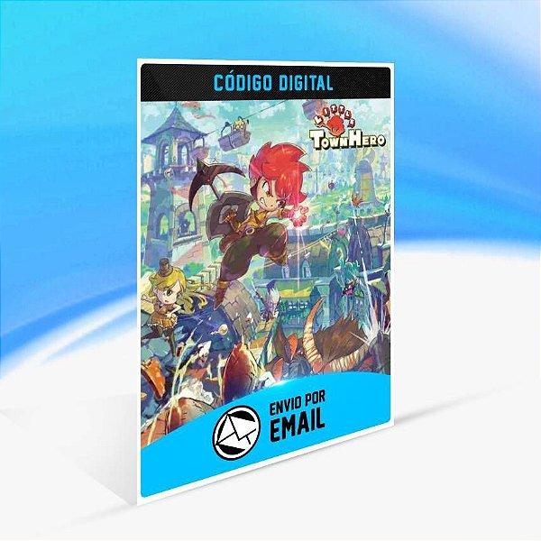Little Town Hero - Xbox One Código 25 Dígitos