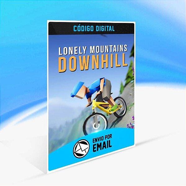 Lonely Mountains: Downhill - Xbox One Código 25 Dígitos
