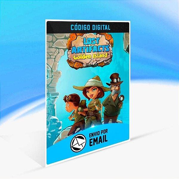 Lost Artifacts: Golden Island - Xbox One Código 25 Dígitos