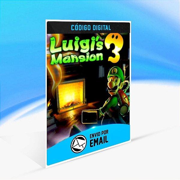 Luigi's Mansion 3 - Nintendo Switch Código 16 Dígitos