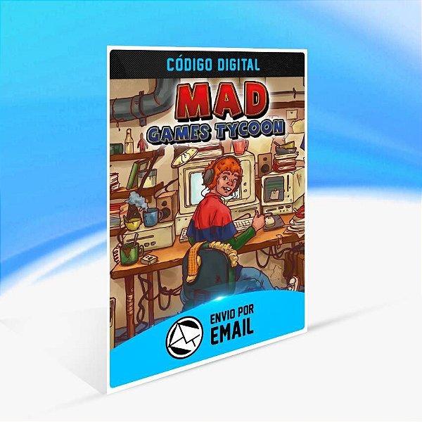 Mad Games Tycoon - Xbox One Código 25 Dígitos