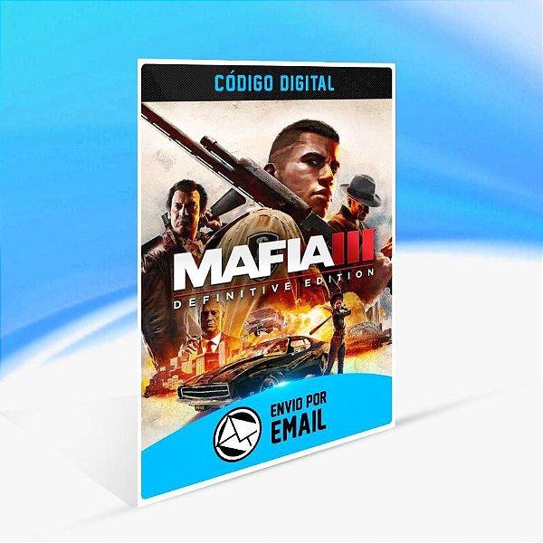 Mafia III: Definitive Edition - Xbox One Código 25 Dígitos