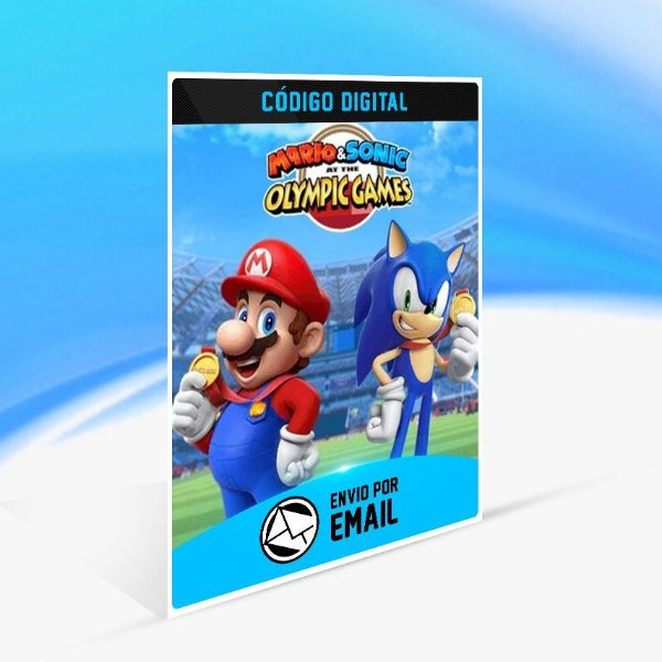 Mario & Sonic at the Olympic Games Tokyo 2020 - Nintendo Switch Código 16 Dígitos