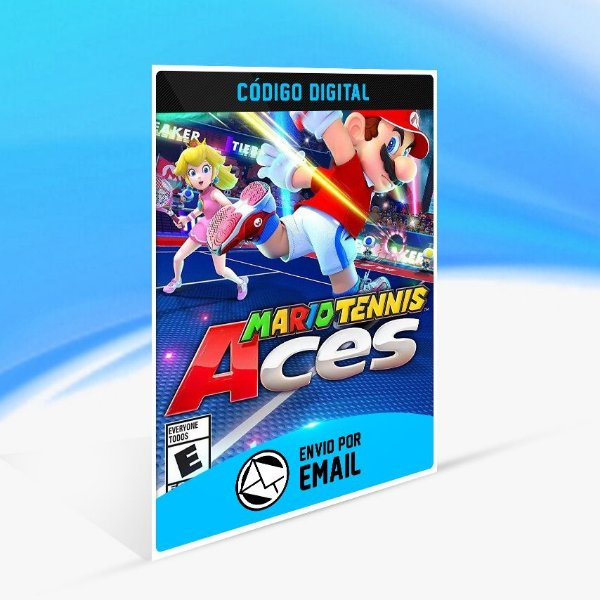 Mario Tennis Aces - Nintendo Switch Código 16 Dígitos