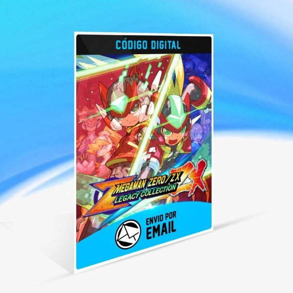 Mega Man Zero/ZX Legacy Collection - Xbox One Código 25 Dígitos