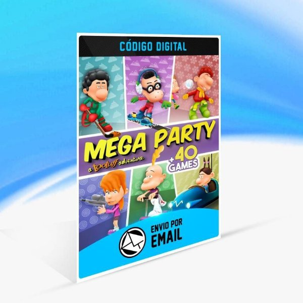 Megaparty: A Tootuff Adventure - Xbox One Código 25 Dígitos
