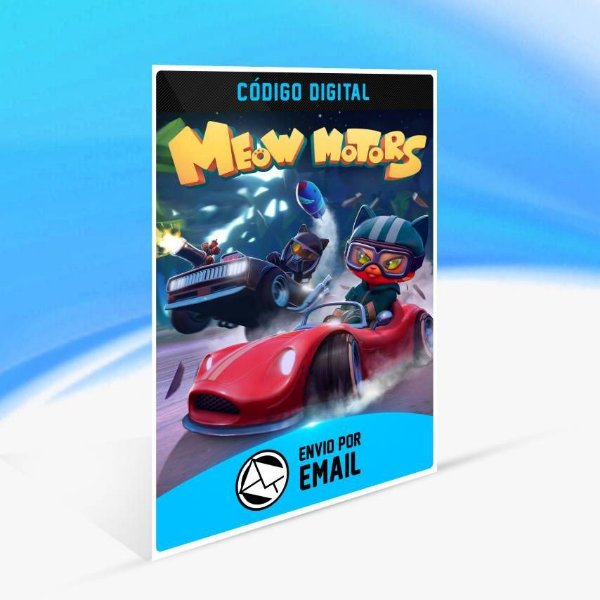 Meow Motors - Xbox One Código 25 Dígitos