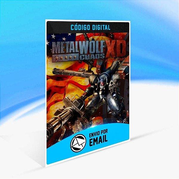 Metal Wolf Chaos XD - Xbox One Código 25 Dígitos