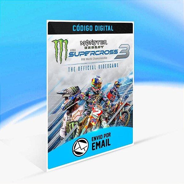 Monster Energy Supercross - The Official Videogame 3 - Xbox One Código 25 Dígitos