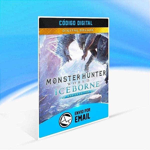 Monster Hunter World: Iceborne Ed. Master Digital Deluxe - Xbox One Código 25 Dígitos