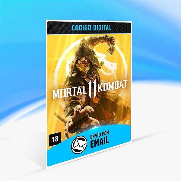 Mortal Kombat 11 - Nintendo Switch Código 16 Dígitos