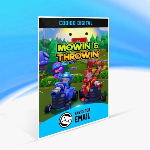 Mowin' & Throwin' - Xbox One Código 25 Dígitos