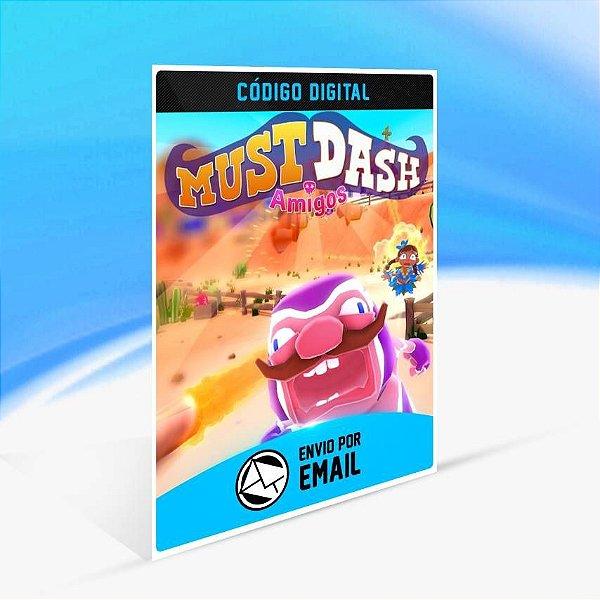 Must Dash Amigos - Xbox One Código 25 Dígitos
