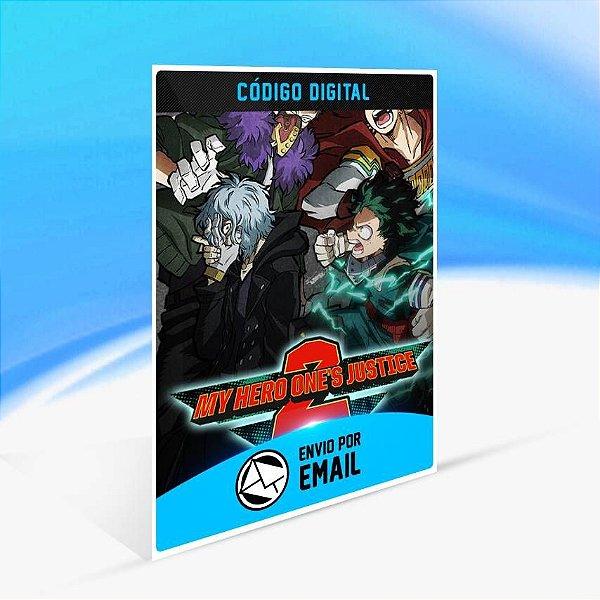 MY HERO ONE'S JUSTICE 2 Edição Deluxe - Xbox One Código 25 Dígitos