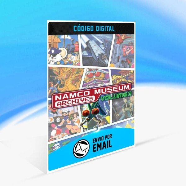 NAMCO MUSEUM ARCHIVES Vol 2 - Xbox One Código 25 Dígitos