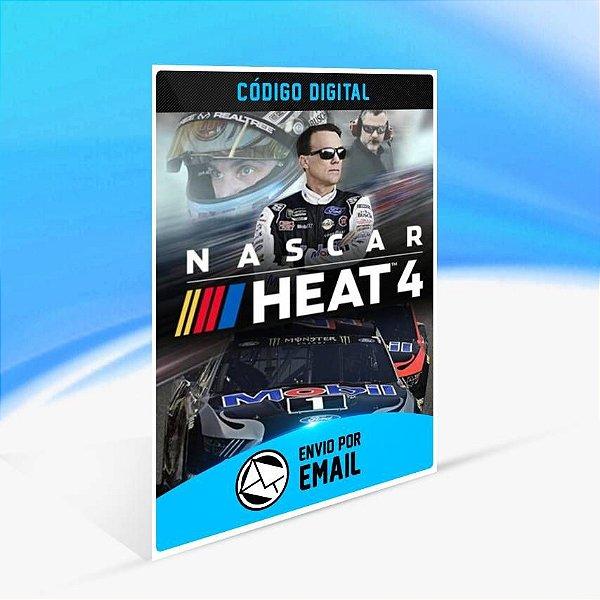 Nascar Heat 4 - Xbox One Código 25 Dígitos