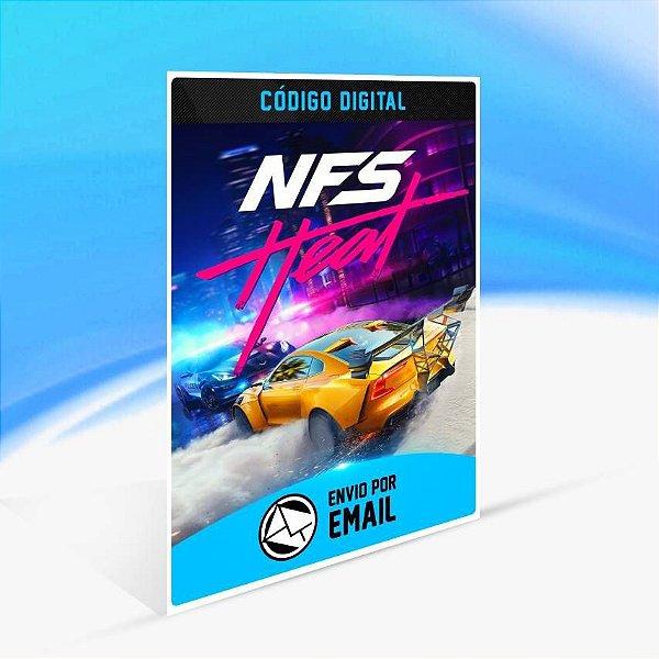 Need for Speed Heat - Xbox One Código 25 Dígitos