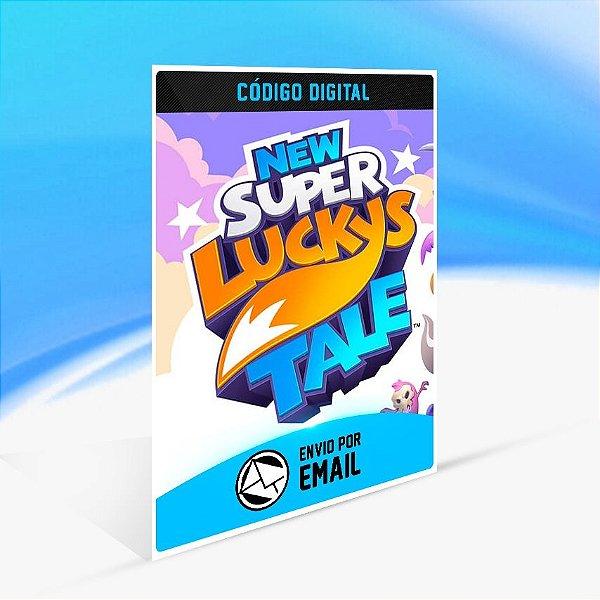 New Super Lucky's Tale - Nintendo Switch Código 16 Dígitos