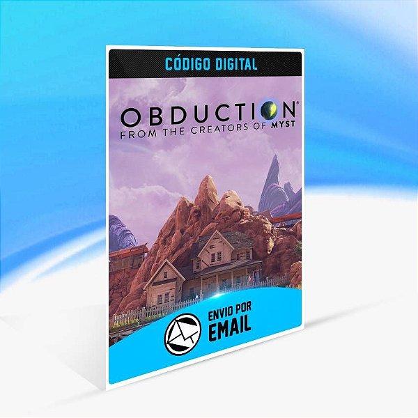 Obduction - Xbox One Código 25 Dígitos