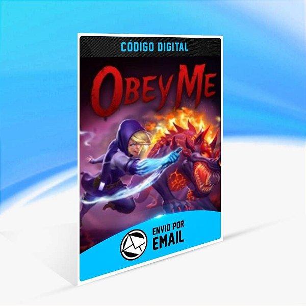 Obey Me - Xbox One Código 25 Dígitos