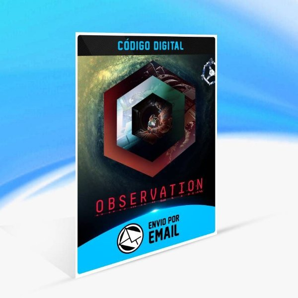 Observation - Xbox One Código 25 Dígitos
