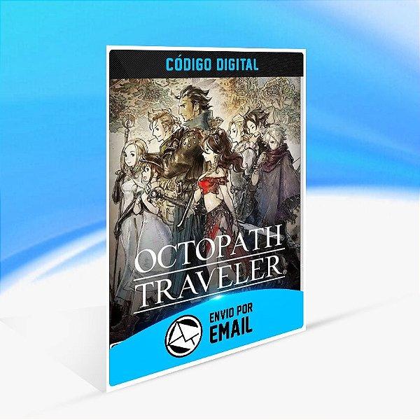 Octopath Traveler - Nintendo Switch Código 16 Dígitos