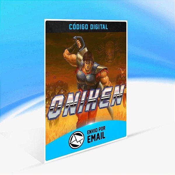 Oniken: Unstoppable Edition - Xbox One Código 25 Dígitos
