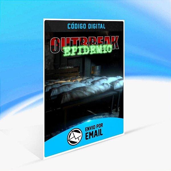 Outbreak: Epidemic - Xbox One Código 25 Dígitos