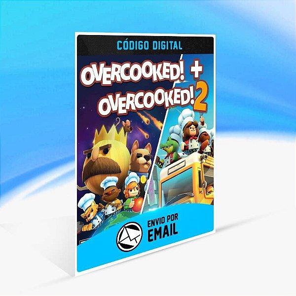 Overcooked! + Overcooked! 2 - Xbox One Código 25 Dígitos