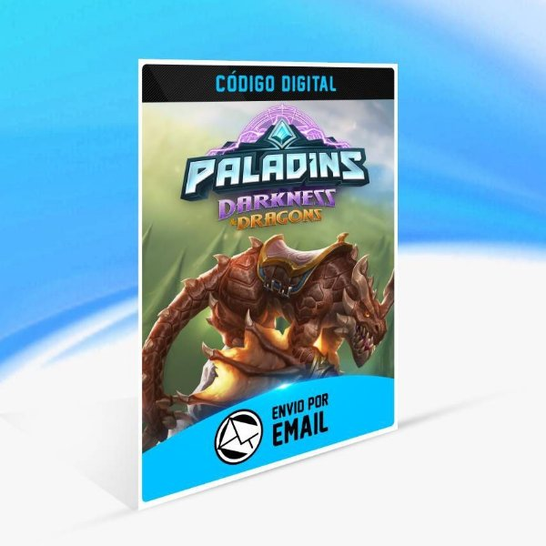 Pacote Dragão Alado de Paladins - Xbox One Código 25 Dígitos