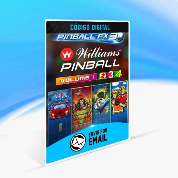 Pinball FX3 - Williams™ Pinball Season 1 Bundle - Xbox One Código 25 Dígitos