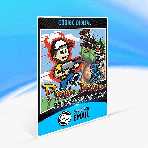 Pixel Devil and the Broken Cartridge - Xbox One Código 25 Dígitos