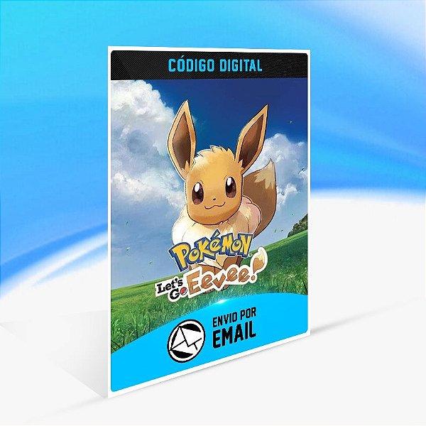 Pokémon  Let's Go, Eevee! - Nintendo Switch Código 16 Dígitos