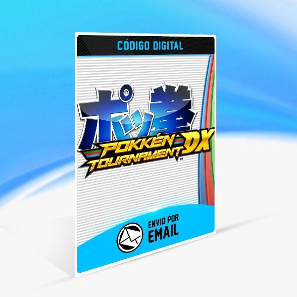 Pokkén Tournament DX - Nintendo Switch Código 16 Dígitos
