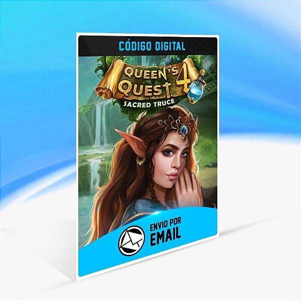 Queen's Quest 4: Sacred Truce (Xbox One Version) - Xbox One Código 25 Dígitos
