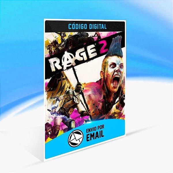 RAGE 2 - Xbox One Código 25 Dígitos