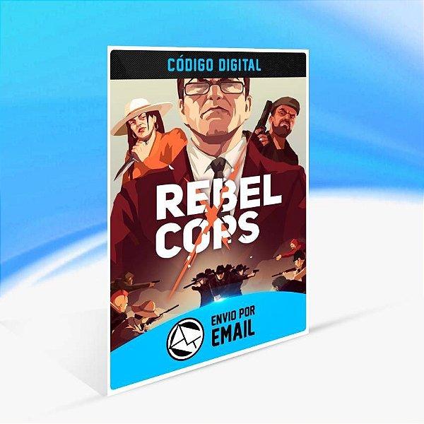 Rebel Cops - Xbox One Código 25 Dígitos