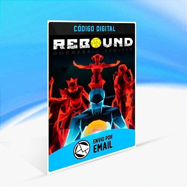 Rebound Dodgeball Evolved - Xbox One Código 25 Dígitos