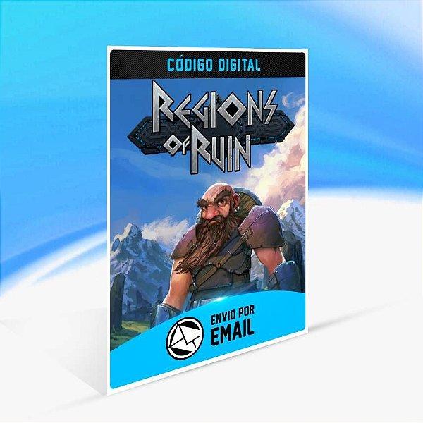 Regions of Ruin - Xbox One Código 25 Dígitos