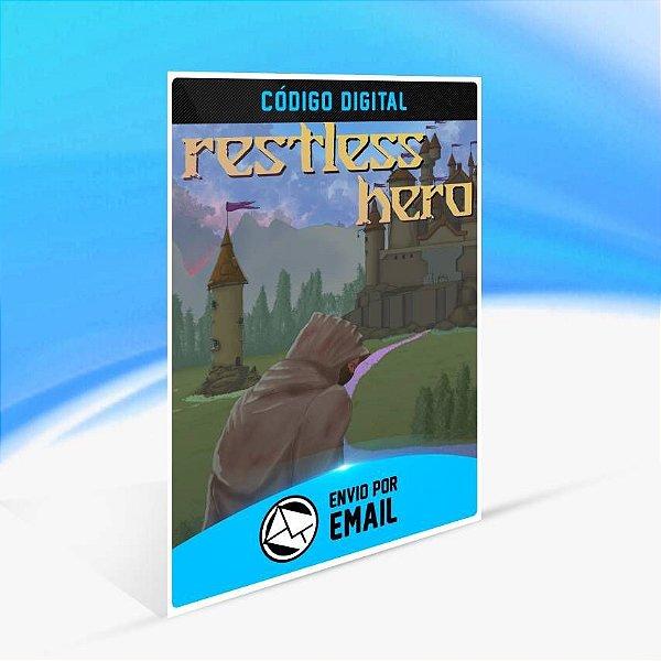 Restless Hero - Xbox One Código 25 Dígitos