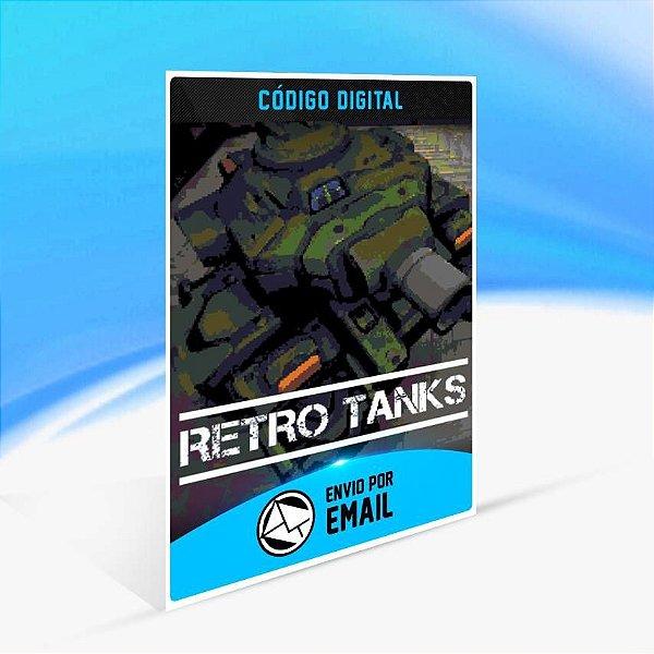 Retro Tanks - Xbox One Código 25 Dígitos