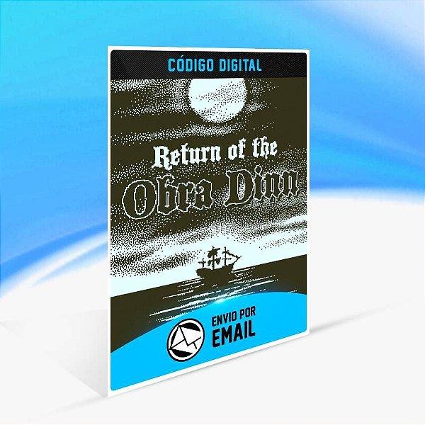 Return of the Obra Dinn - Xbox One Código 25 Dígitos