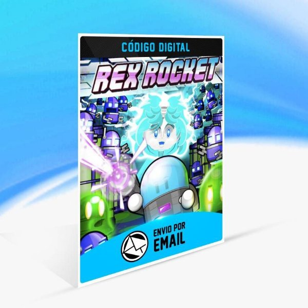 Rex Rocket - Xbox One Código 25 Dígitos