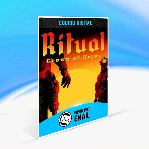 Ritual: Crown of Horns - Xbox One Código 25 Dígitos