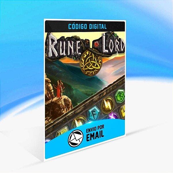 Rune Lord - Xbox One Código 25 Dígitos