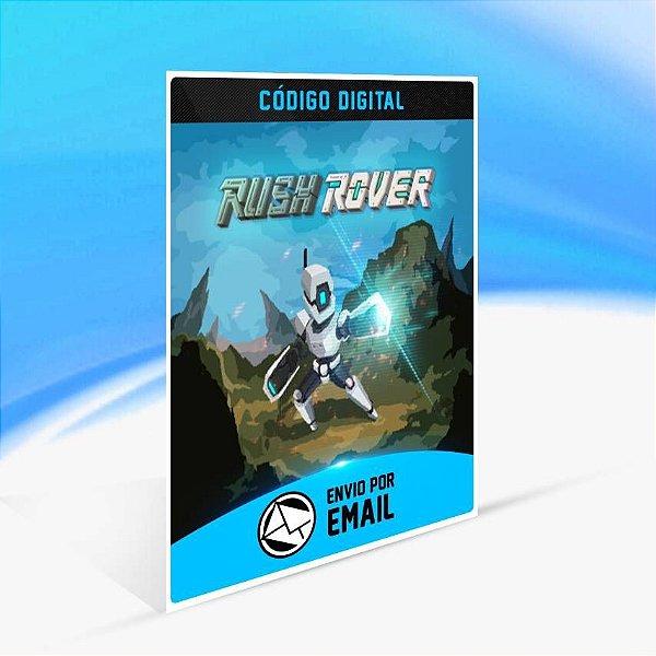 Rush Rover - Xbox One Código 25 Dígitos