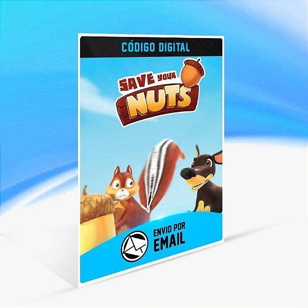 Save Your Nuts - Xbox One Código 25 Dígitos